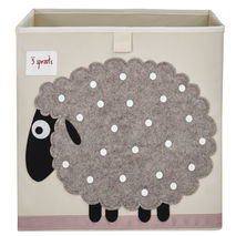 Applique Sheep Storage Box