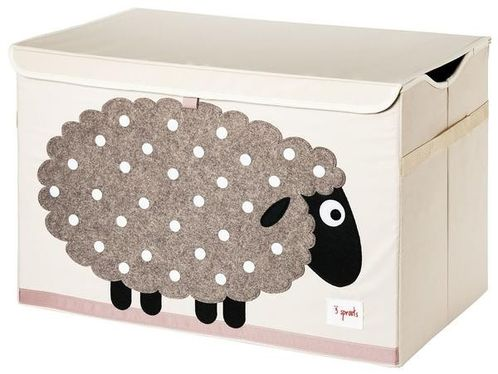 Applique Sheep Toy Chest image #1