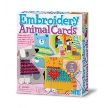 Embroidery Animal Cards image #1