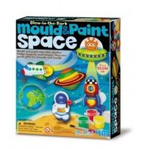 Glow in the dark Mould and paint space set
