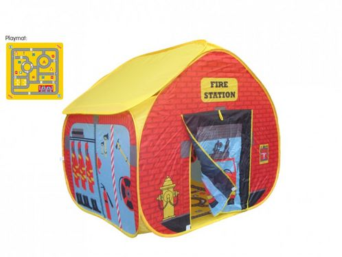 Fire station pop up play tent image #1