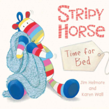 Stripy Horse Time for Bed Book