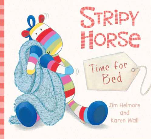 Stripy Horse Time for Bed Book image #1