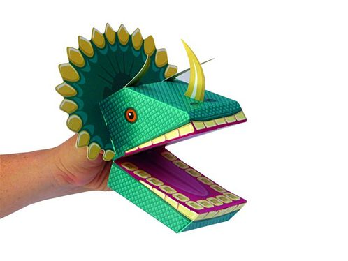Create your own Dinosaur Puppets image #1