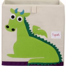 Storage Box Green Dragon