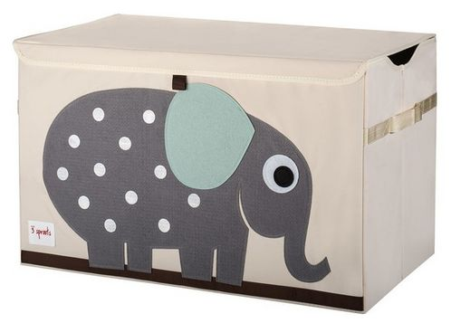 Elephant Applique Toy Chest image #1