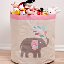 Speckled House Elephant Storage Hamper