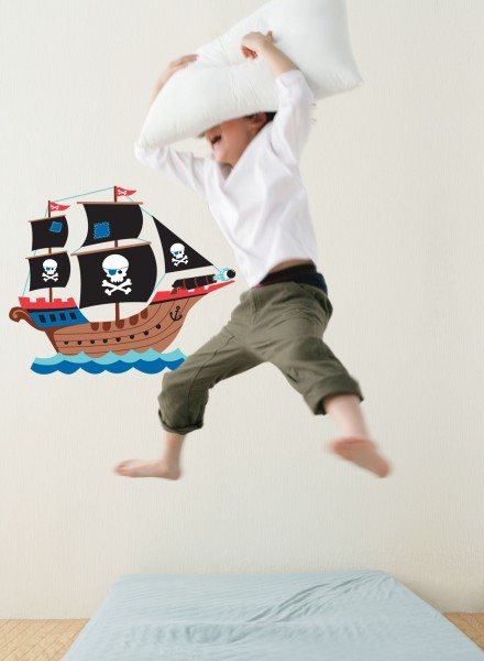 Pirate Ship Wall Stickers image #1