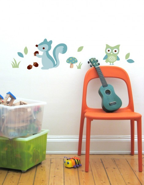 Blue Forest Wall Stickers image #1