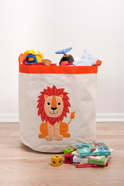 Speckled House Lion Storage Hamper image #1