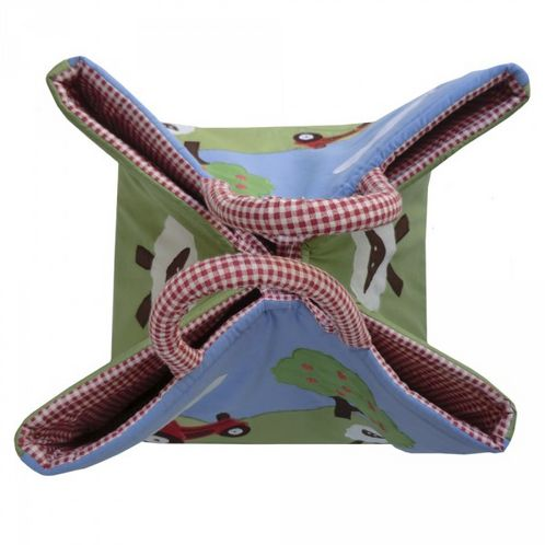 Farmyard Quilted Storage Hamper image #1