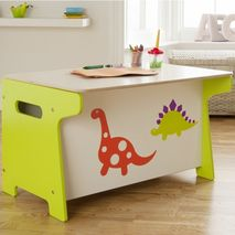 Dinosaur Toy Box and Desk