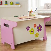 Flower Toy Box and Desk