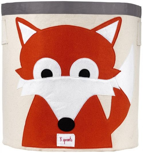Applique Fox Storage Bin image #1