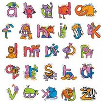 Girls Alphabet