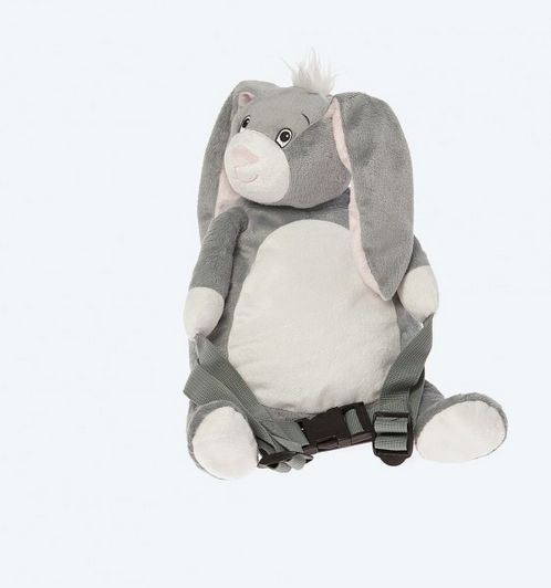 BoBo Buddies Backpack with reins - Bunny image #1