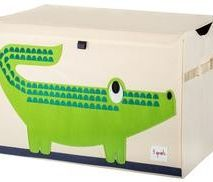 Green Crocodile Toy Chest