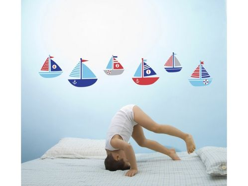 Ahoy There! Boat Wall Stickers image #1