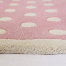 Pink Spotty Rug