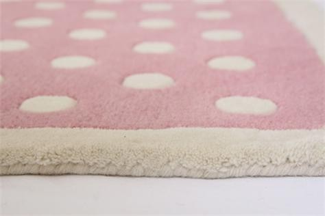 Pink Spotty Rug image #1