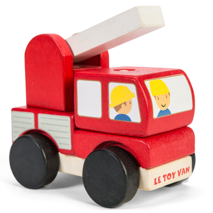 Le Toy Van Stacking Fire Engine