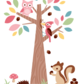 Forest Friends Wall Stickers image #4