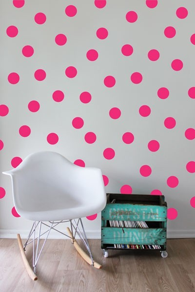 Polka Dot Wall Stickers - Sunshine image #1