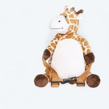 BoBo Backpack with reins -Giraffe