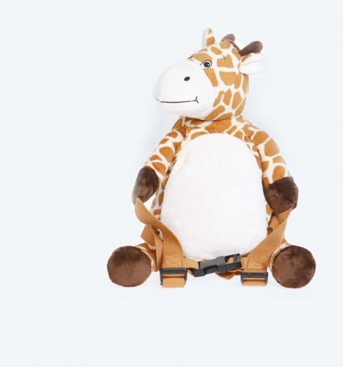 BoBo Backpack with reins -Giraffe image #1