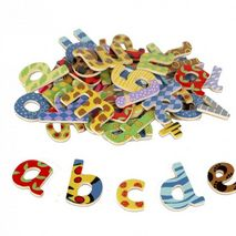 Magnetic Fridge Magnets - Letters