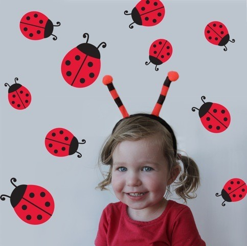 Ladybird Wall Stickers image #1
