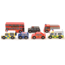 Le Toy Van London Wooden Car Set