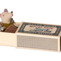 Maileg Matchbox mouse, boy