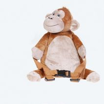 BoBo Backpack with reins -Monkey