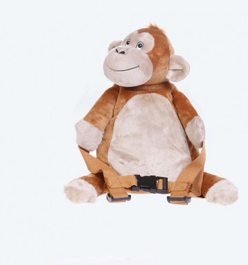 BoBo Backpack with reins -Monkey image #1