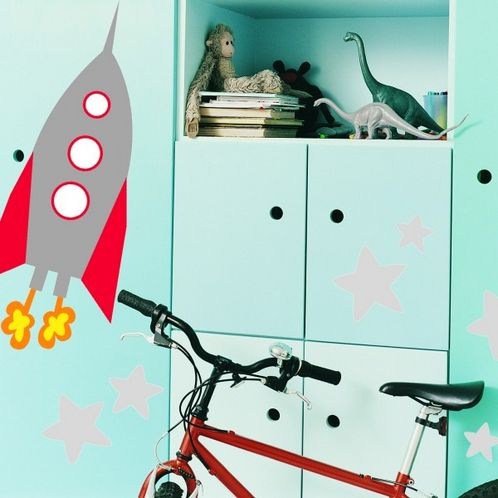 Rocket Wall Stickers image #1