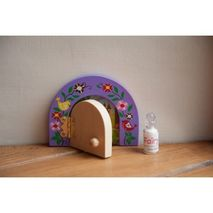Fairydoorz, purple fairy door