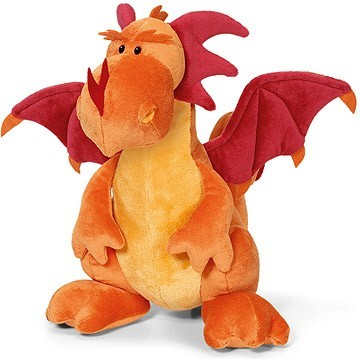 Red Dragon Soft Toy image #1