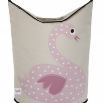 Laundry Hamper Swan