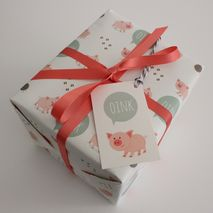 Pig Gift Wrap