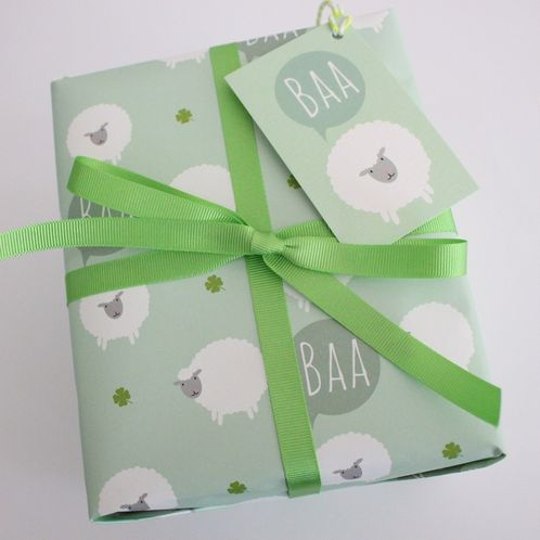 Sheep Gift Wrap image #1