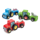Le Toy Van Wooden tractor