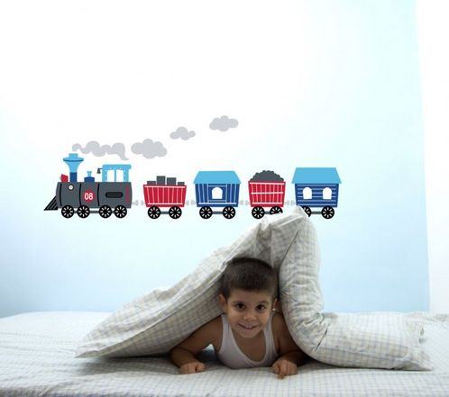 Train Wall Stickers image #1