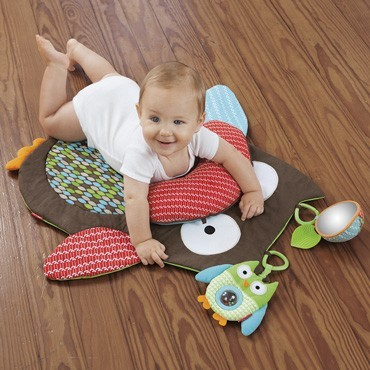 Treetop Friends Tummy Time Mat image #1