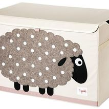 Applique Sheep Toy Chest