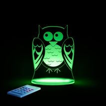 Sleepylights butterfly nightlight with remote control