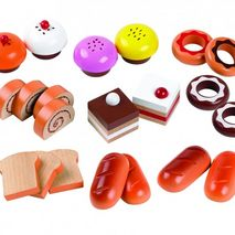 Wooden Cakes & Buns