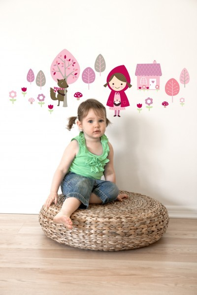 Little Red Wall Sticker image #1