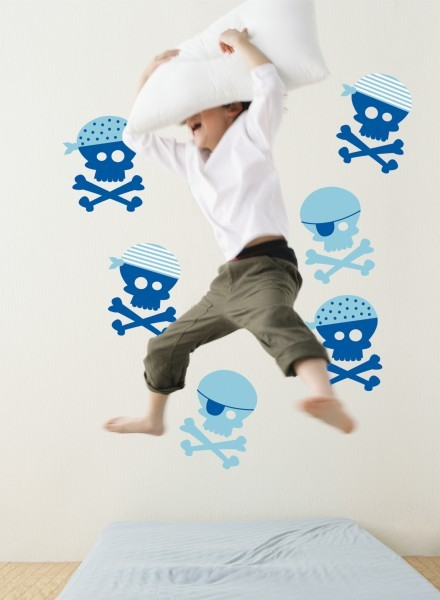 Blue Pirate Wall Stickers image #1