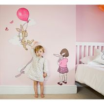 Belle and Boo Pink Balloon Height Chart